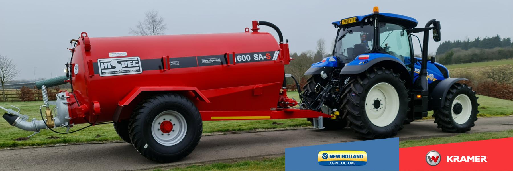 tractor hire preston