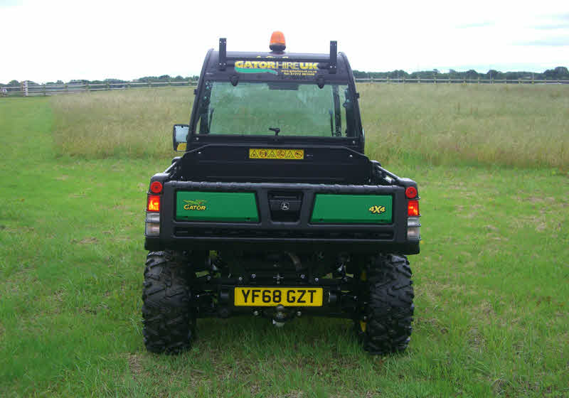 2 seat gator hire UTV north west