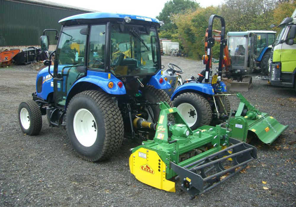 new holland compact tractor hire lancashire